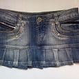 Отдается в дар Юбка джинсовая 29 размер