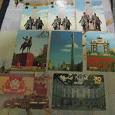 Отдается в дар календарики города, памятники, даты.