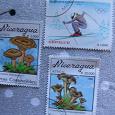 Отдается в дар марки Никарагуа