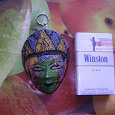 Отдается в дар брелок — маска