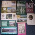 Отдается в дар наборы открыток и путеводители-ретро