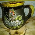 Отдается в дар Чашка новая, очень красивая, есть крохотная щербинка, кто не суеверный, желайте :-)