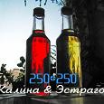 Отдается в дар Наливки-настойки: Калина & Эстрагон & Черноплодка (25 и 35 и 35об.)