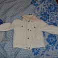 Отдается в дар куртка детская 68-74 см