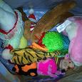 Отдается в дар Небольшие мягкие игрушки «на вес» одним мешком