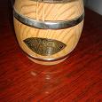 Отдается в дар Сувенирный деревянный бочонок