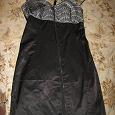 Отдается в дар Платье черное, размер XS