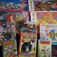 Отдается в дар Детские паззлы, мозайка и книжки 3-6 лет