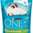 Отдается в дар Сухой корм для домашних кошек Purina One с индейкой и цельными злаками
