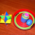 Отдается в дар игрушки: головоломка и кольцеброс