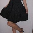 Отдается в дар Черное платье(размер S) несколько фото