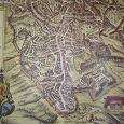 Отдается в дар Постер в виде старинной карты
