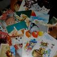 Отдается в дар Обратно открытки с кошками
