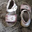 Отдается в дар Обувь летняя на девочку 22 р-р