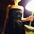 Отдается в дар Черное коктейльное платье (S)