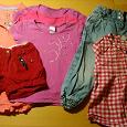 Отдается в дар Летние вещи для девочки, 104-110