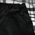Отдается в дар Чёрные прямые брюки H&M