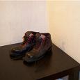 Отдается в дар Лыжные ботинки 41 размер