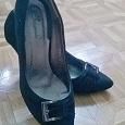 Отдается в дар Туфли замшевые 36 размер