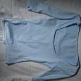 Отдается в дар голубая эластичная футболка, одна из любимых, сост на 4