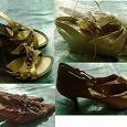 Отдается в дар Пакет летней женской обуви, р.35,5 — 36