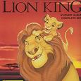 Отдается в дар Наклейки Король-лев Panini к журналу