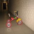Отдается в дар Детский 3-х колесный велосипед