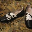 Отдается в дар Туфли для девочки 32 размер.Кожа