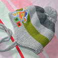 Отдается в дар Зимняя шапка для мальчика