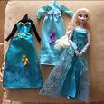 Отдается в дар Кукла Эльза с платьями