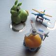Отдается в дар 3 игрушки из киндер-сюрприза (шоколадного яйца)
