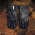 Отдается в дар Женские зимние кожаные перчатки
