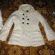 Отдается в дар Куртка зимняя женская белая.