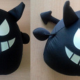 Отдается в дар Декоративная игрушка Черное нечто, наверное чертик.Покупалась когда то в Красном кубе