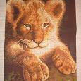 Отдается в дар Схема для вышивки крестом: «Львенок».