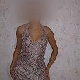 Отдается в дар Дизайнерское платье 42-44 размер