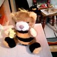 Отдается в дар Игрушка «Мишка-пчелка»