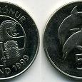 Отдается в дар монета Исландии