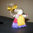 Отдается в дар Маленькая куколка из льна на «Женское Счастье»