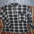 Отдается в дар Теплая мужская рубашка ~54 размер