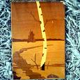 Отдается в дар Картина из дерева