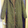 Отдается в дар Пальто женское, размер 46-50. Практически новое.