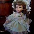 Отдается в дар Кукла фарфоровая