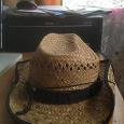 Отдается в дар Шляпа летняя ковбойская