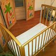 Отдается в дар Детская кровать с матрасом