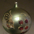 Отдается в дар ретро ёлочный шар