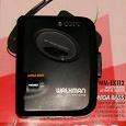 Отдается в дар Аудиокассетный плеер «Sony Walkman WM-EX112» (не работает)
