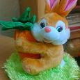 Отдается в дар Мягкая игрушка заяц — музыкальная копилка