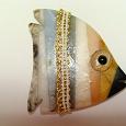 Отдается в дар каменная рыбка-магнит