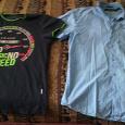 Отдается в дар Футболка и рубашка мужские 44-46 размер